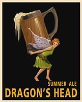 Dragon's Head Ale by Steve Thomas - various sizes