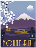 Mt Fuji Fine Art Print