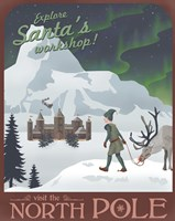 North Pole Christmas by Steve Thomas - various sizes