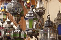 Decorative Lanterns in Fes Medina Morocco