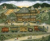 Wallace Station Fine Art Print