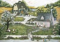 A Story At Grandmas Fine Art Print