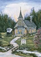 Wildwood  Church Fine Art Print