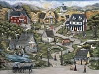Apple Valley Farm Fine Art Print