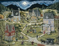 The Witches Of Black Mountain Fine Art Print