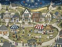 Liberty Village Celebration Fine Art Print