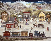 The Mining Town Of Sweet Tuesday by Ann Stookey - various sizes