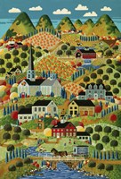 Country Town Fine Art Print