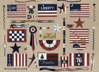 Flags Fine Art Print