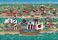 The Pirates of St Augustine by Anthony Kleem - various sizes, FulcrumGallery.com brand