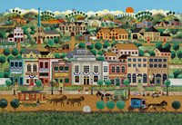 My Home Town Fine Art Print