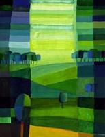 Green Hills Fine Art Print