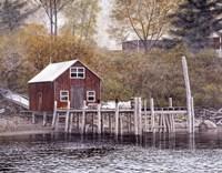 New Harbor Fine Art Print