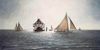 Gathering At Thomas Point by David Knowlton - various sizes