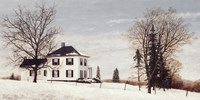 Country Manor House Fine Art Print