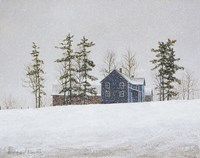 Snowy Ridgeline by David Knowlton - various sizes