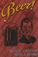 Beer Hobby Framed Print