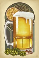 Beer Mug Large Fine Art Print