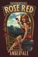 Rose Red Amber Ale Fine Art Print