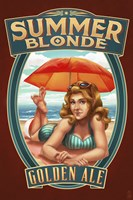 Summer Blonde Golden Ale Fine Art Print