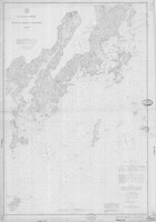 Muscle Ridge Channel Map Fine Art Print