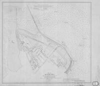Munjoy Hill, Maine Map Fine Art Print