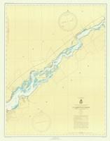 St. Lawrence River Map Fine Art Print