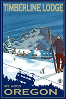 Timberline Lodge Oregon Fine Art Print