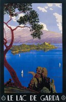 Le Lac De Garda Lake Scene by Lantern Press - various sizes