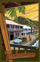 Old Lahaina Hawaii Ad Fine Art Print