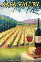 Napa Valley Ad Fine Art Print