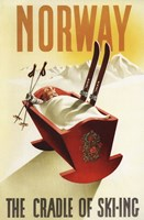 Cradle Of Skiing Norway Fine Art Print
