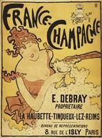 France Champagne Fine Art Print