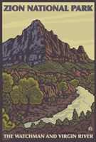 Zion National Park by Lantern Press - various sizes