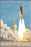 Kennedy Space Center Ad Fine Art Print