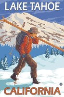 Lake Tahoe California Ski Fine Art Print