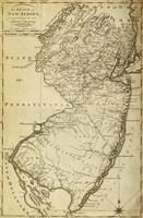 New Jersey State Map Fine Art Print