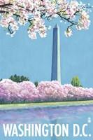 Washington DC Monument Ad Fine Art Print