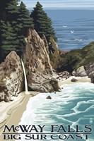 McWay Falls Big Sur Coast Fine Art Print