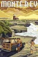 Monterey (Surfing) Fine Art Print