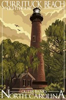 Currituck Beach Lighthouse Carolina Fine Art Print
