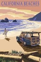Californa Beaches Fine Art Print