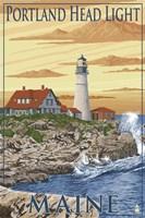 Portland Head Light Maine Fine Art Print