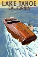 Lake Tahoe California Boat Fine Art Print