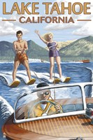 Lake Tahoe California Water Ski Fine Art Print