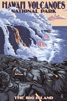Hawaii Volcanoes National Park Fine Art Print