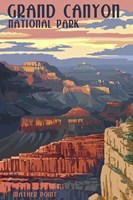 Grand Canyon Park Mather Point Framed Print