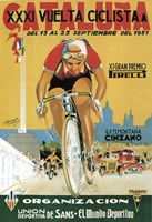 Vuelta Ciclista XXXVI Cataluna Bicycle Fine Art Print