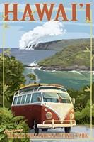 Hawaii Volcanoes Cruising Fine Art Print