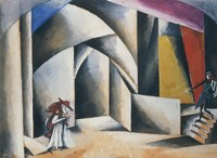 Friar Laurence'S Cell, 1920 by Liubov Popova, 1920 - various sizes, FulcrumGallery.com brand